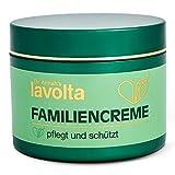 LAVOLTA Familiencreme, natürliche Creme aus Sheabutter & Mandelöl für Gesicht & Körper mit...