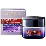 L'Oréal Paris Hyaluron Nachtpflege, Revitalift Filler, Anti-Aging Gesichtspflege, Anti-Falten und...