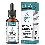 Retinol Serum - Retinol Liposomen Liefersystem mit Vitamin C & Vegan Hyaluronsäure für Gesicht,...