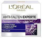 L'Oréal Paris Falten Gesichtscreme, Anti-Falten Experte 55+ Nachtcreme für Damen ab 55 Jahren mit...