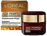 L'Oréal Paris Nachtpflege, Age Perfect Extra-Reichhaltig, Anti-Aging Gesichtspflege, Entknittern...