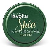 LAVOLTA Shea Naturcreme Classic für Gesicht und Körper aus 100% gereinigter Sheabutter & Vitamin E...