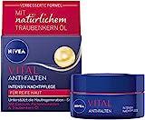 NIVEA VITAL Intensiv Nachtpflege (50 ml), reichhaltige Feuchtigkeitspflege mit Calcium,...