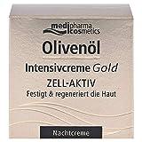 Olivenöl Intensivcreme Gold Zell-Aktiv Nachtcreme, 50 ml