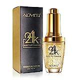 24 Karat Gold Anti-Aging-Gesichtsserum, Feuchtigkeitscreme, angereichert mit Vitamin C-Serum,...
