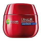 Garnier Ultra Lift Complete Beauty straffende Anti-Falten Nachtpflege/Anti Aging Creme mildert...