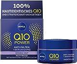 NIVEA Q10 Power Anti-Falten + Reduzierte Sensibilität Nachtpflege für jünger aussehende Haut,...