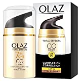 Olaz Total Effects Anti-Aging 7-in-1 Complexion Correction CC Tagescreme Mittlere Bis Dunkle...