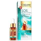 Eveline Cosmetics Instant SOS Lifting Anti-Aging 100% Hyaluron Serum Gesichts für Tiefe Falten und...